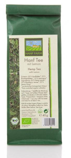 Hanf Bio Genuss-Tee Mischung mit Lemongras