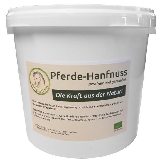 Hanfnuss Pferdehanf Futtermittelzusatz 2 kg Packung
