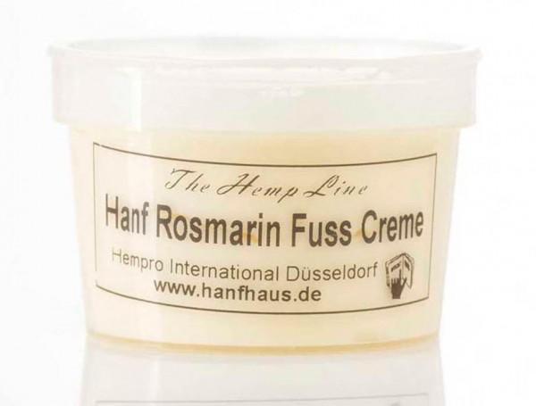 Hanf Rosmarin Fusscreme in Reisegroesse