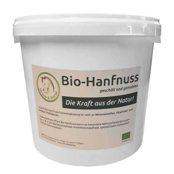 Hanfnuss Bio Pferdehanf Futtermittelzusatz 2 kg Packung
