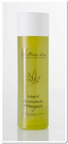 Hanf-Avocado Pflegeöl